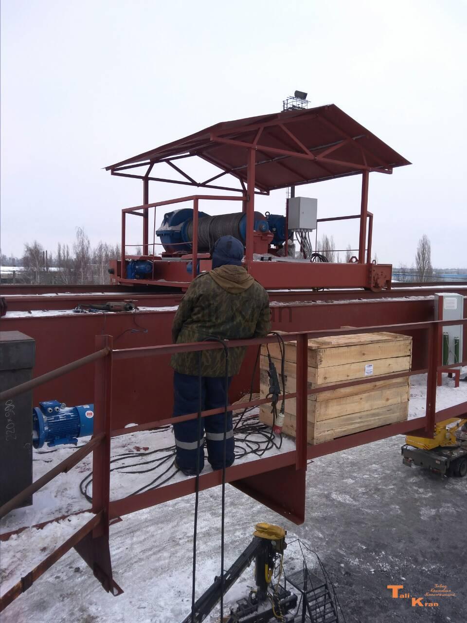 Модернизация крановой тележки крана