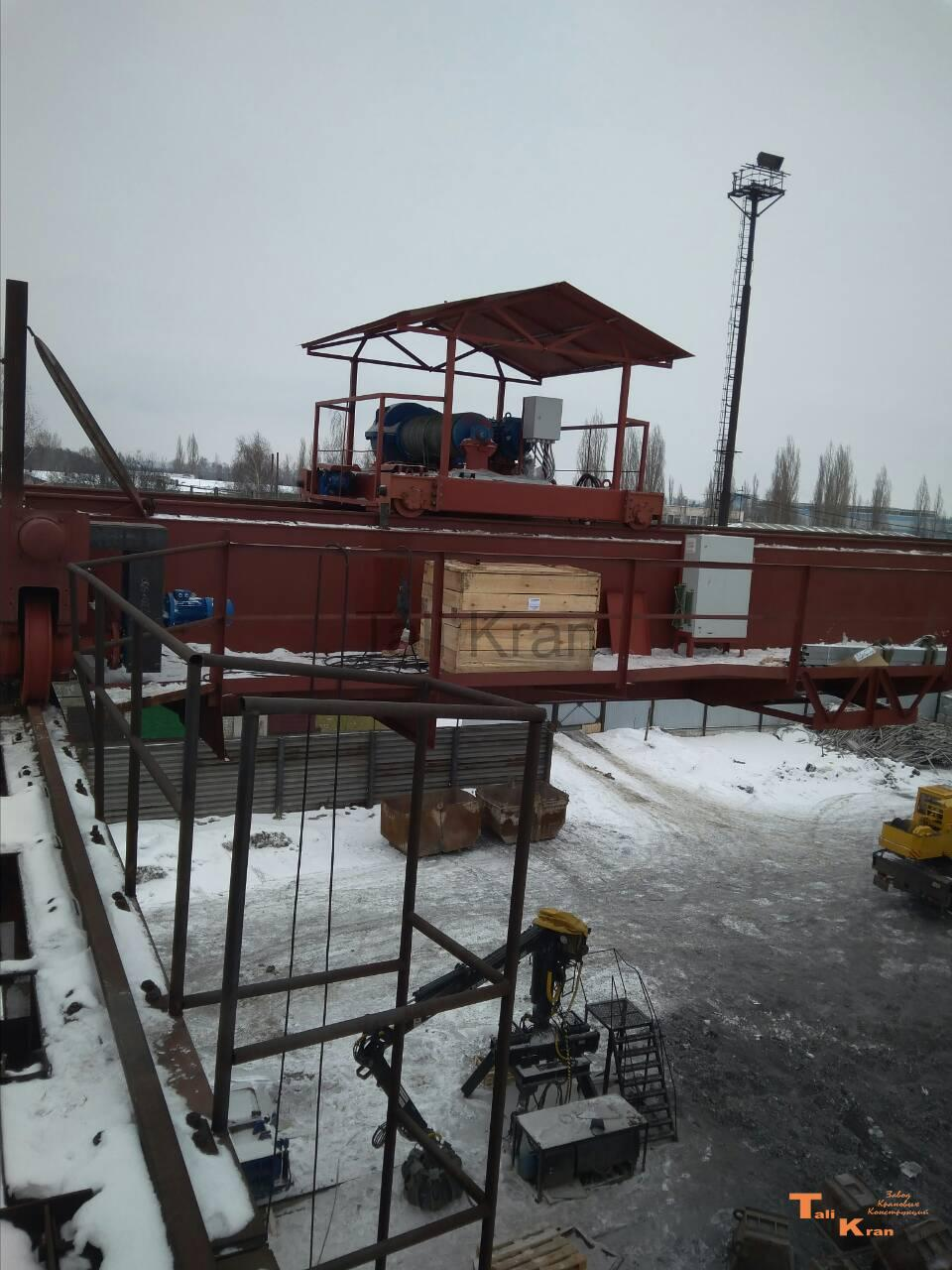 Модернизация мостового крана