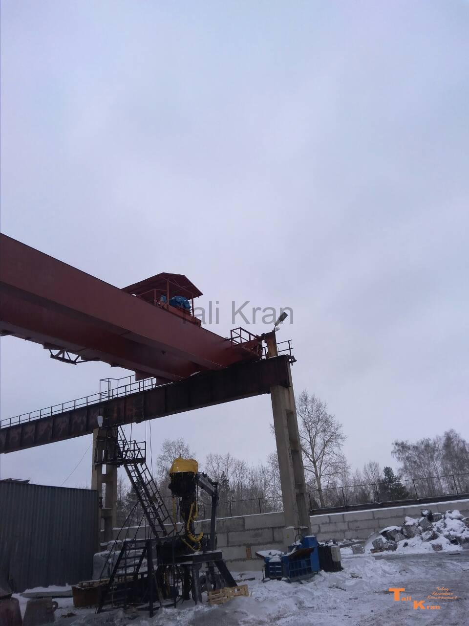 Мостовой кран алтек