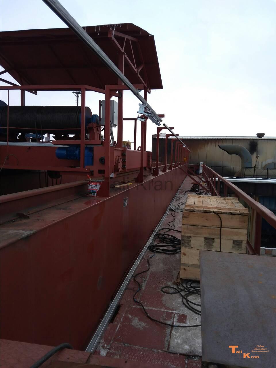 Модернизация проводки мостового крана